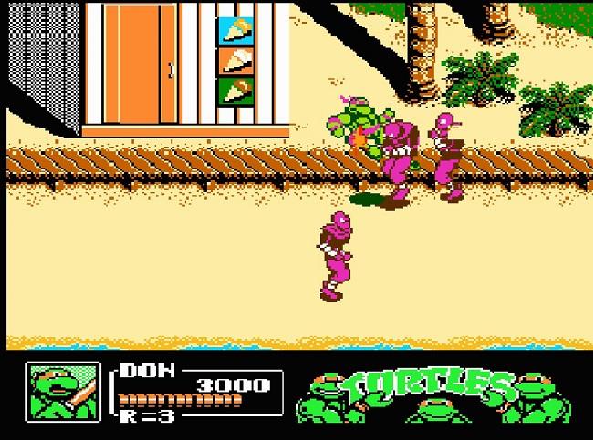 hanh trinh gian kho trong game ninja rua