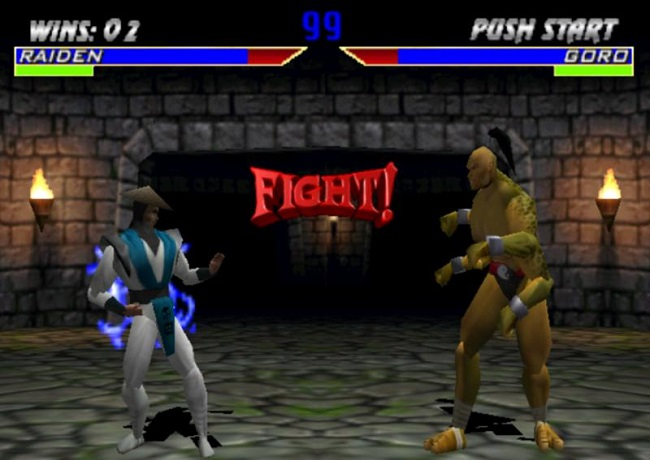 dau boss trong game mortal kombat 4