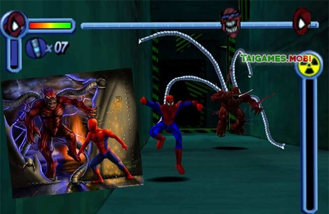 trum cuoi trong game spiderman ps1