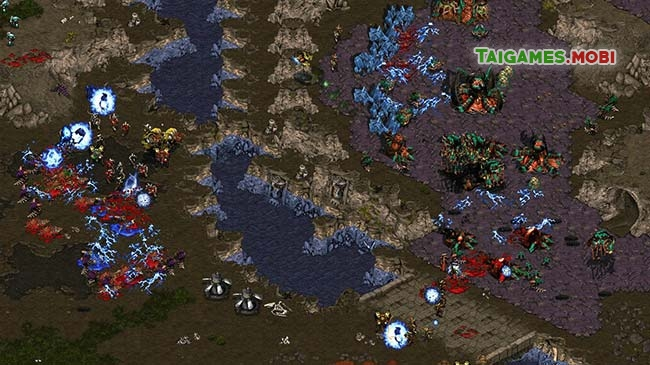 gameplay trong game starcraft 1 brood war