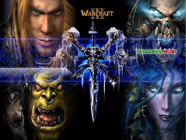 chon lua 4 nhan vat trong game warcraft frozen throne