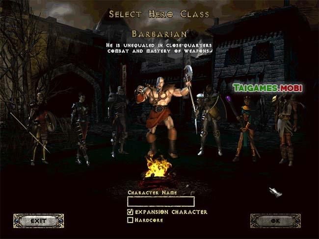 chon-nhan-vat-trong-game-diablo-2