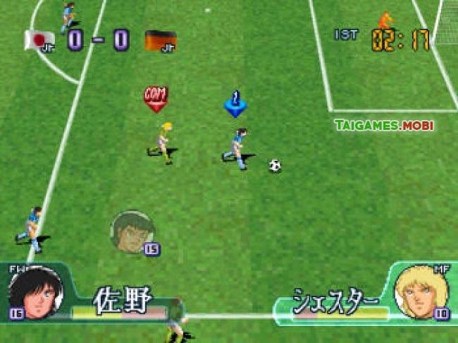 gameplay trong game captain tsubasa