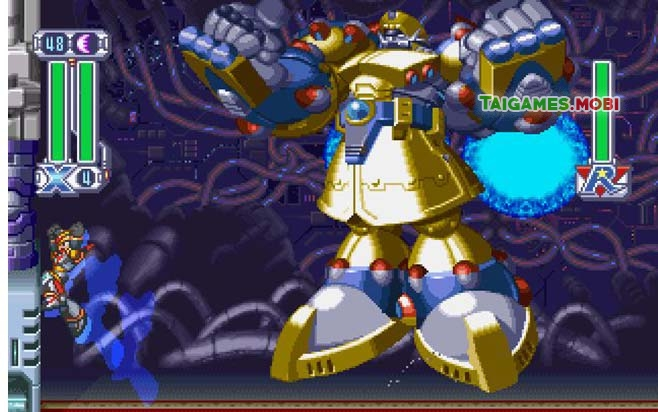 boss trong game megaman x4
