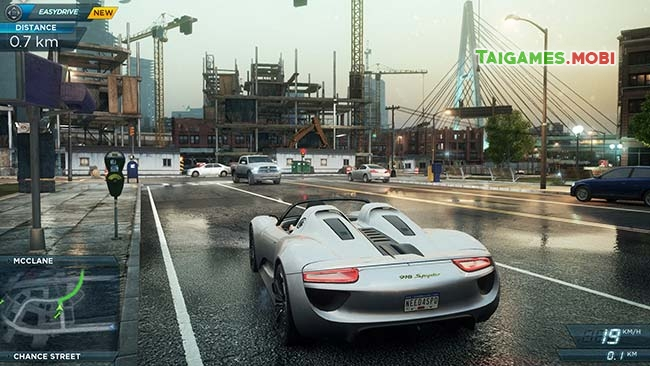 gameplay trong tro choi need for speed most wanted