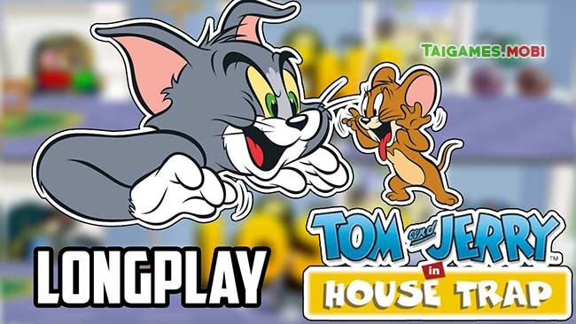gioi thieu ve tua game tom and jerry in house trap ps1