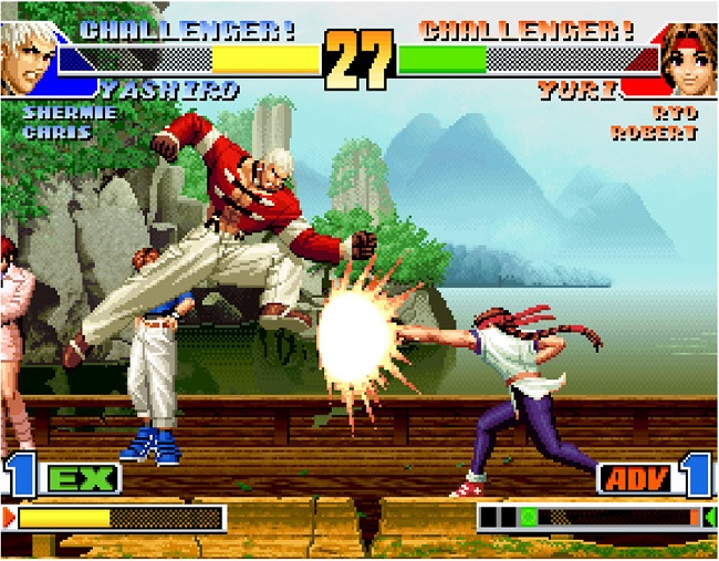 ky nang chien dau trong game king of fighter