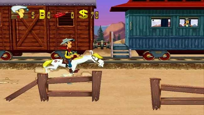nhan vat chinh trong game lucky luke and the daltons