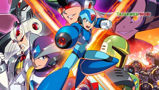 do hoa trong game megaman x4