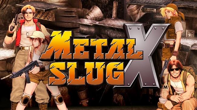 gioi thieu cac nhan vat trong game metal slug x