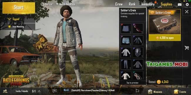 trang phuc trong game pubg mobile