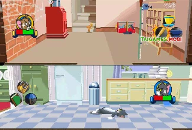 chien thang trong game tom and jerry in house trap ps1