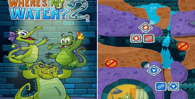 tải game dẫn nước về cho cá sấu tắm 2