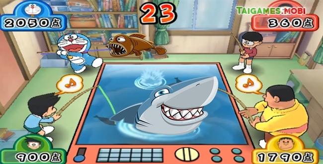 tải game doremon cấu cá miễn phí