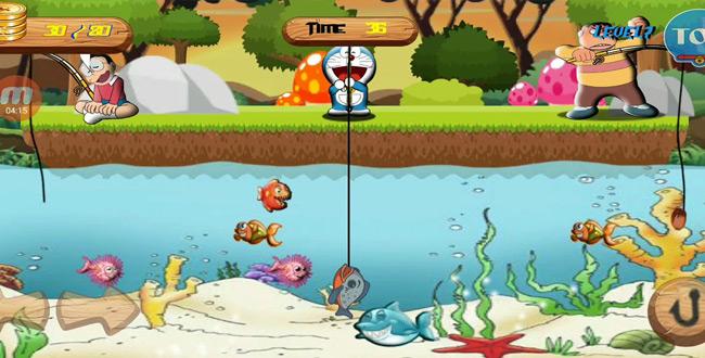 tải game doremon câu cá về điện thoại