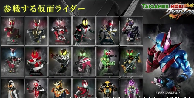tải game kamen rider decade