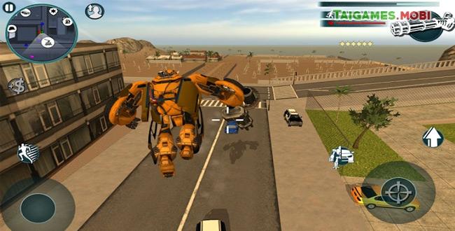 tải game robot biến hình về điện thoại