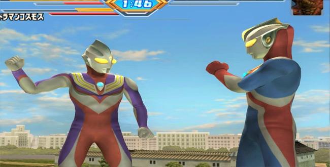 tải game siêu nhân tiga miễn phí