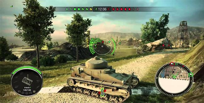 tải game xe tăng chiến đấu