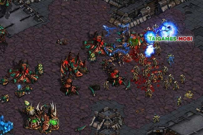 cuoc chien trong game starcraft 1 brood war