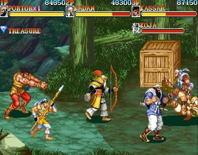 danh nhau trong game tam quoc dien nghia warriors of fate