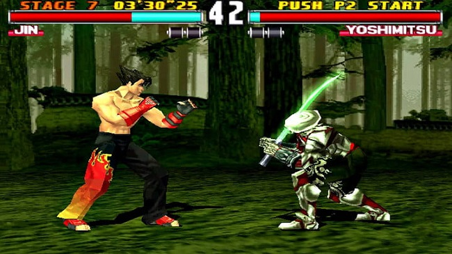 gameplay cua game tekken 3