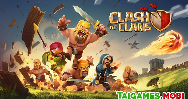kham pha tua game chien thuat clash of clans mobile