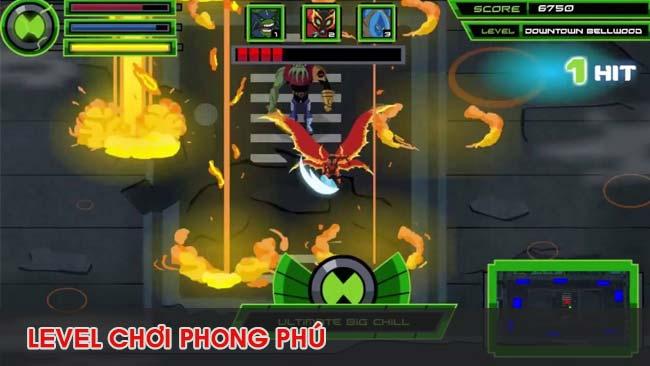 level–trong-game-ben-10-ultimate-alien