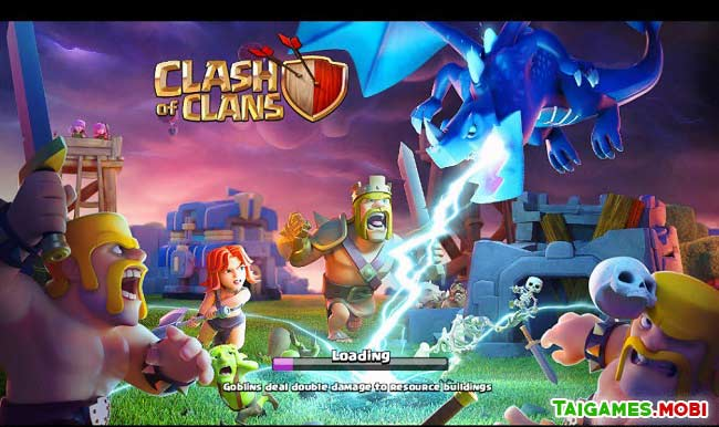 he thong nhan vat trong game clash of clans
