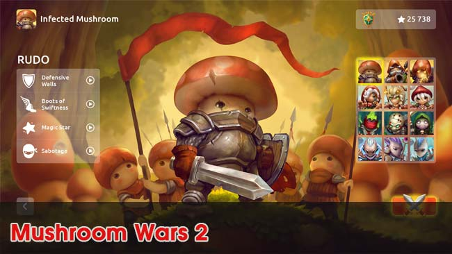 Mushroom-Wars-2-top-game-chien-thuat-mobile-2019