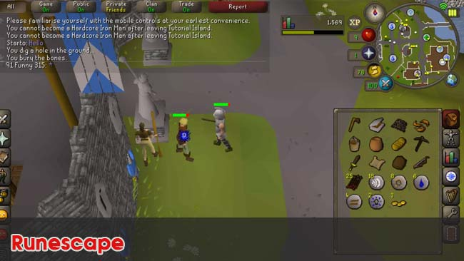 Runescape-top-game-nhap-vai-rpg