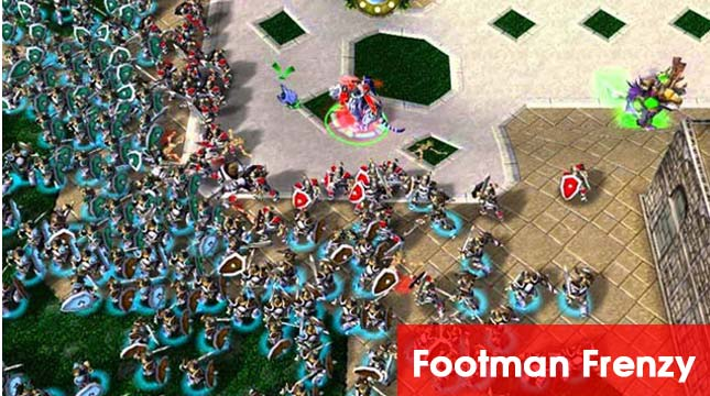 footman-frenzy–map-warcraft-choi-1-minh