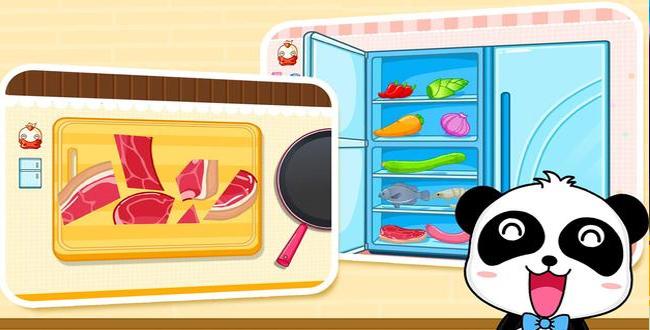 game đầu bếp gấu trúc nhỏ của bé
