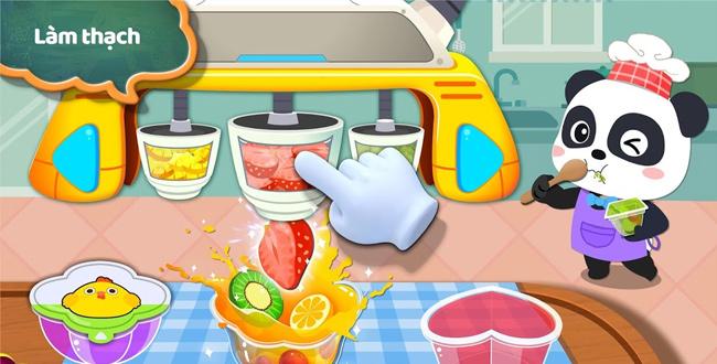 game nhà máy món ăn nhẹ của gúc trúc nhỏ