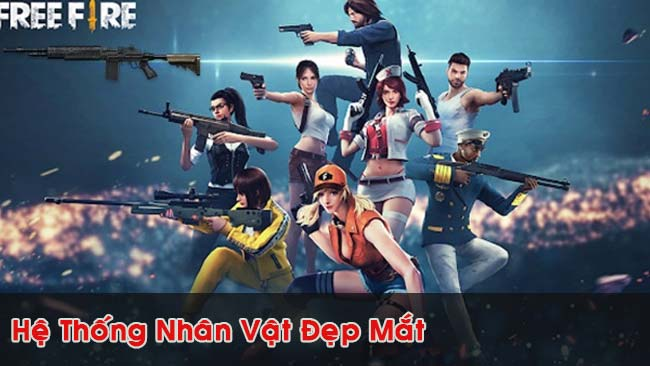 he-thong-nhan-vat-game-Garena-Free-Fire