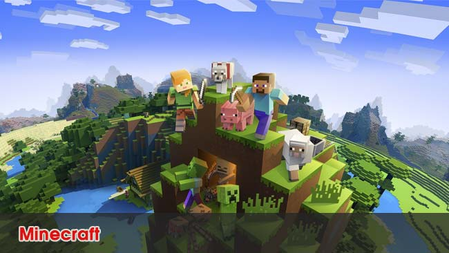 minecraft -top game the gioi mo