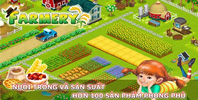 tải game nông trại farmery