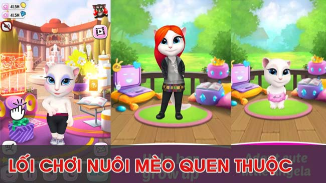 gameplay-loi-choi–game-nuoi-meo-my-talking-angela
